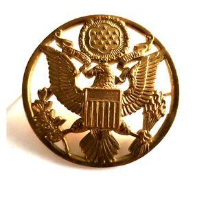 Vintage❗ bronze emblem
